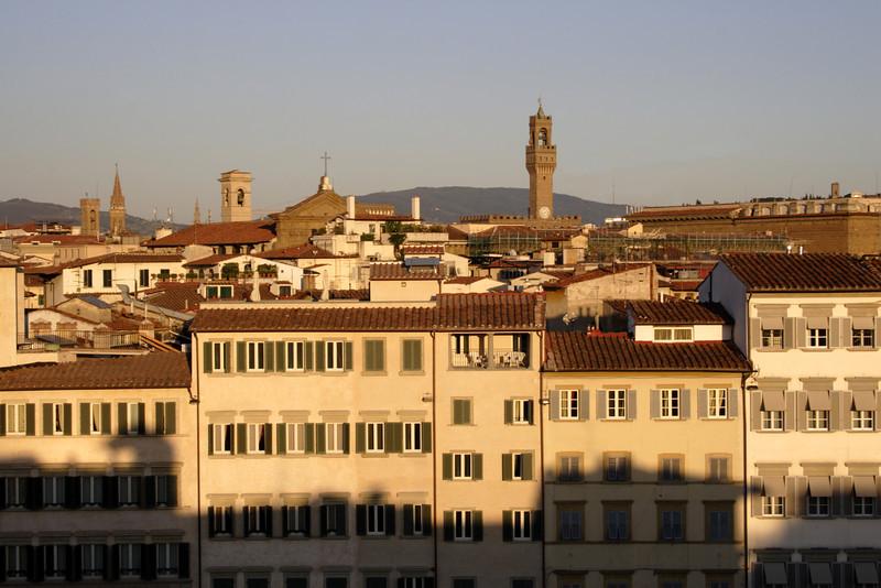 Piazza di Santa Novella at Dusk Florence July 2007
