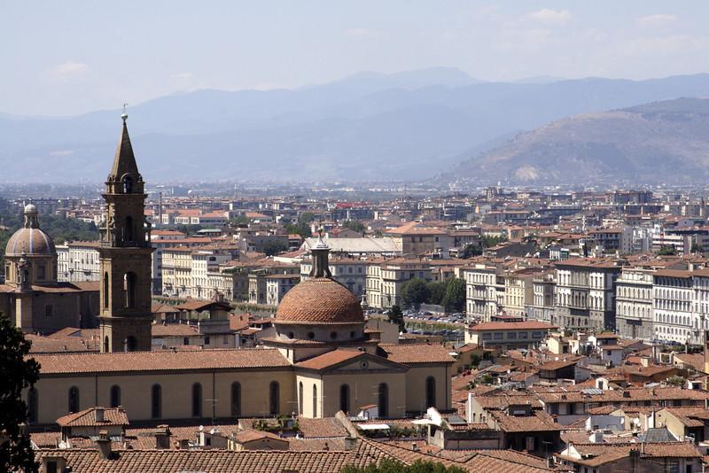 Florence cityscape July 2007