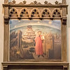 Dante portrayed revealing his poem The Divine Comedy