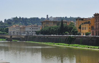 Arno River, from the Uffizi Museum