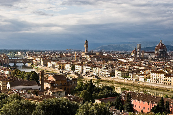 The City of Florence as viewed from Piazzale Michelangelo