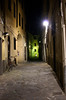 Dark alley at night Florence