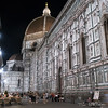 Florence Duomo side on at night