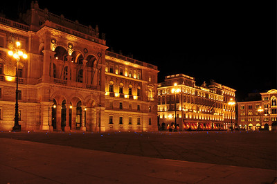 Piazza dell'Unità d'Italia in Trieste