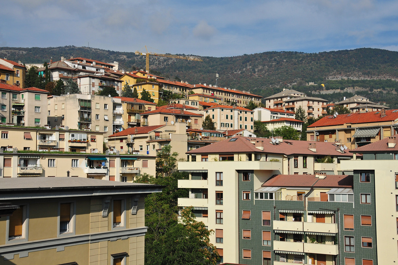 View from my new apartment in Trieste