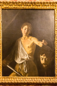 David with the Head of Goliath - Caravaggio
