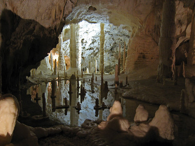 Frasassi Caves in Italy