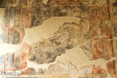 Fresco in Ruins