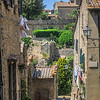 Typical street scene in Volterra