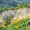 Limestone cliffs of Volterra