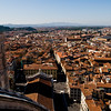 Title: Florence Laid Out Before You<br /> Date: October 2011<br /> At the top of the Duomo in Florence.