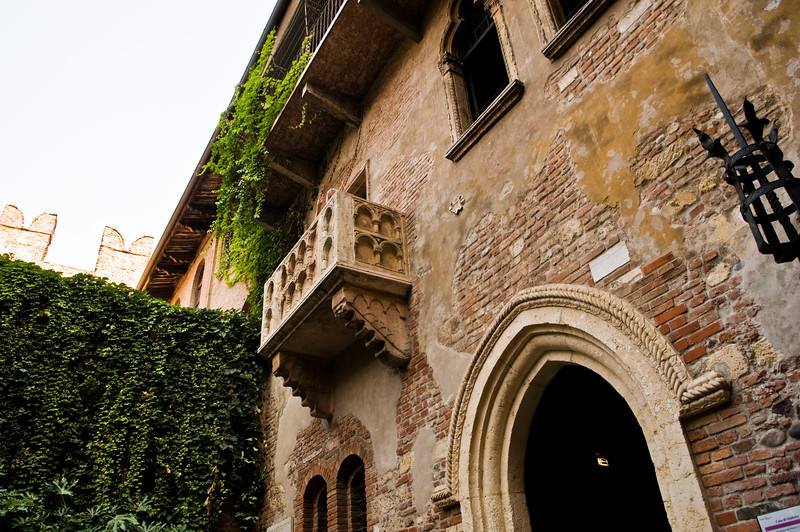 Title: Juliet's Balcony<br /> Date: October 2011<br /> Verona