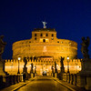 Title: Walk of the Angels<br /> Date: October 2011<br /> Castel Sant'Angelo in Rome, though the castel is technically in Vatican City.