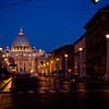 Title: Via della Conciliazione<br /> Date: October 2011<br /> Looking into Vatican City.