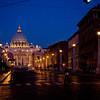 Title: Via della Conciliazione<br /> Date: October 2011<br /> Looking into Vatican City.