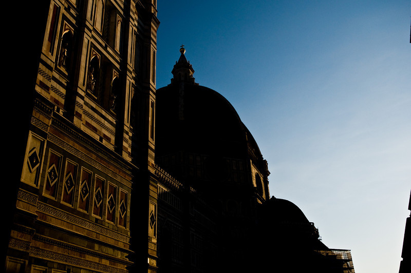 Title: The Duomo in the Early Morning<br /> Date: October 2011<br /> Florence