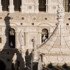 Title: In a Doge's Window<br /> Date: October 2011<br /> The Doge's Palace in Venice.