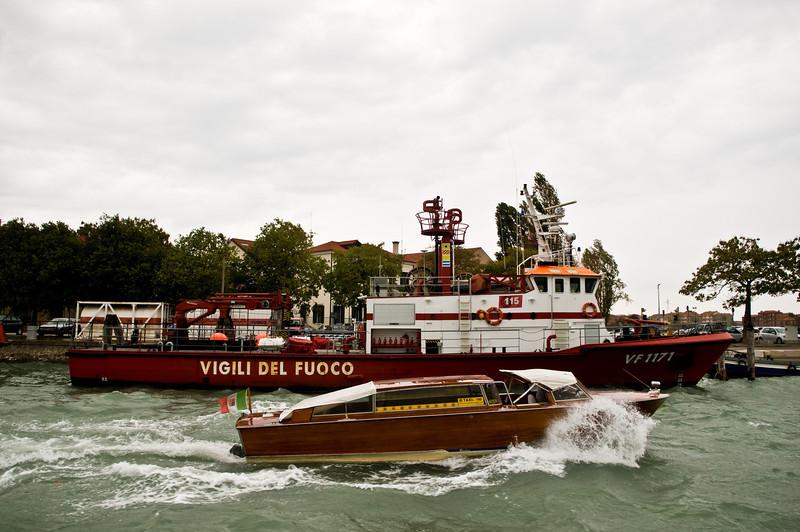 Title: Vigili Del Fuoco<br /> Date: October 2011<br /> Venice