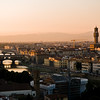 Title: City in Sunset Light<br /> Date: October 2011<br /> Florence