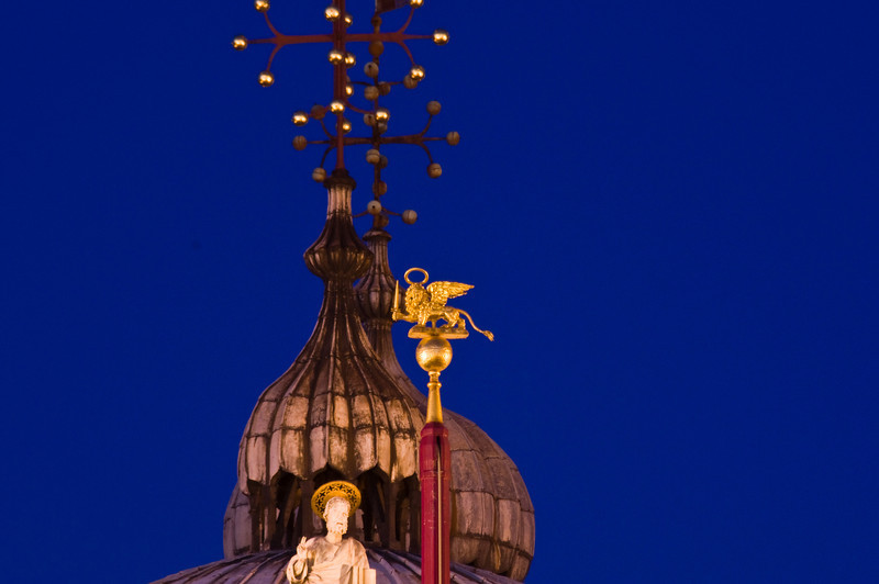 Title: Blessing the Lion<br /> Date: October 2011<br /> Venice