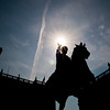 Title: Grasping the Sun<br /> Date: September 2011<br /> Replica statue of Emperor Marcus Aurelius on the Capitoline Hill.