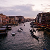 Title: Grand Canal at Sunset<br /> Date: October 2011<br /> Venice