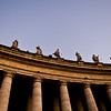 Title: A Line of Saints<br /> Date: October 2011<br /> Vatican City