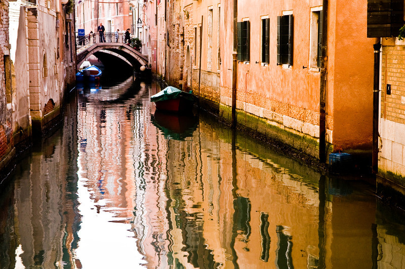 Title: Reflected Canal<br /> Date: October 2011<br /> Venice