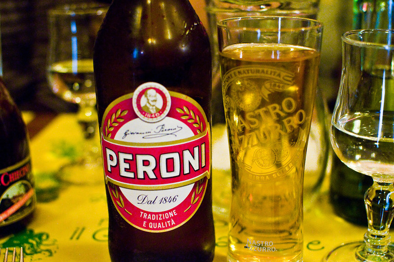 Title: Excellent Peroni<br /> Date: October 2011<br /> The best beer I had in all of Italy. Florence.