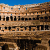 Title: The Bowl of the Colosseum<br /> Date: October 2011<br /> Rome