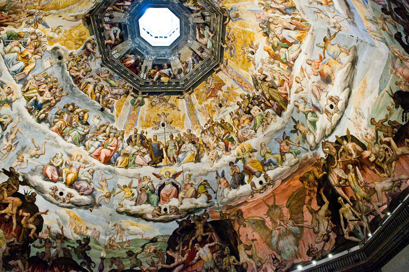 Title: Levels of the Universe<br /> Date: October 2011<br /> Inside the Duomo of Florence.