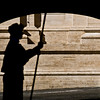 Title: Guard<br /> Date: October 2011<br /> A Swiss Guardsman on duty outside of the Vatican.