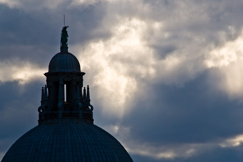 Title: Domes and Clouds<br /> Date: October 2011<br /> Venice