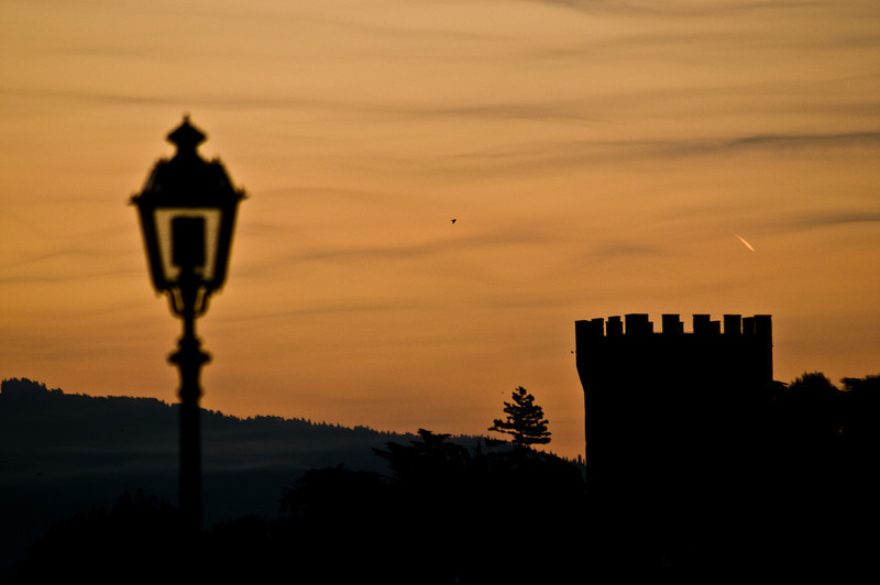Title: Early Morning Sky<br /> Date: October 2011<br /> Florence