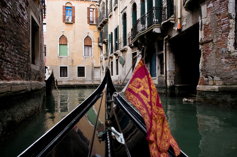 Title: Turning the Corner<br /> Date: October 2011<br /> Venice