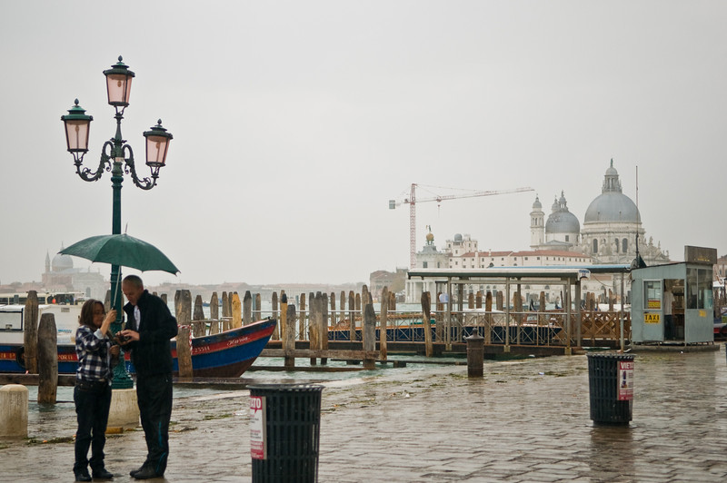 Title: Directionless in the Rain<br /> Date: October 2011<br /> Venice