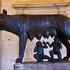 Title: She-Wolf of Roma<br /> Date: September 2011<br /> Famous She-Wolf of Rome in the Capitoline Museum.