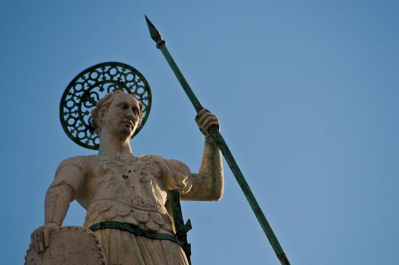 Title: Guardian Saint<br /> Date: October 2011<br /> Venice