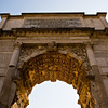 Title: The Arch of Titus<br /> Date: October 2011<br /> Inside the Imperial Forum in Rome.