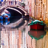 Title: Painted Canal<br /> Date: October 2011<br /> Venice