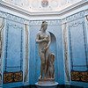 Title: Blue Venus<br /> Date: September 2011<br /> Capitoline Venus in the Captioline Museum in Rome.