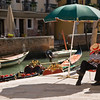 Title: Gondoliers at Rest<br /> Date: October 2011<br /> Venice