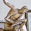 """Title: Holding Down Date: October 2011 A close up of the statue """"Hercules Beating the Centaur Nessus"""" by <a href=""""http://en.wikipedia.org/wiki/Giambologna"""" rel=""""nofollow"""">Giambologna</a>."""