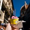 Title: Gelato and the Duomo<br /> Date: October 2011<br /> Florence