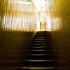 Title: Narrow Path to the Cupola<br /> Date: October 2011<br /> The stairway up to the cupola of the Saint Peter's Basilica.