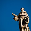 Title: Saintly Pose<br /> Date: October 2011<br /> Vatican City