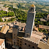 Title: Towering Above Tuscany<br /> Date: October 2011<br /> San Gimignano, Tuscany