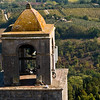 Title: Bell Tower Over Tuscany<br /> Date: October 2011<br /> San Gimignano, Tuscany