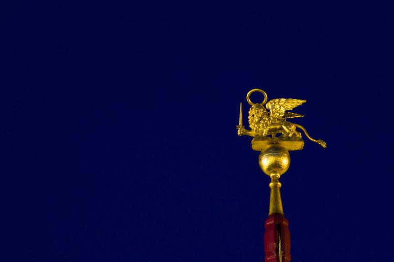 Title: Golden Lion<br /> Date: October 2011<br /> Venice