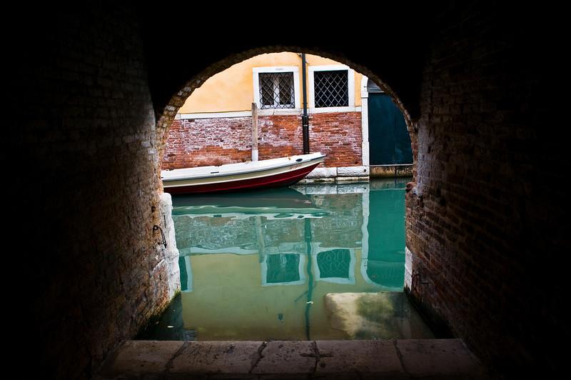 Title: Venetian Dead End<br /> Date: October 2011<br /> Venice